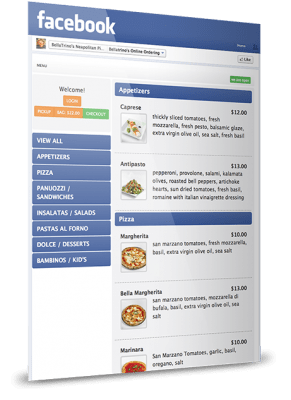 Facebook ordering for your restaurant
