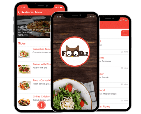 Mobile app for your restaurant